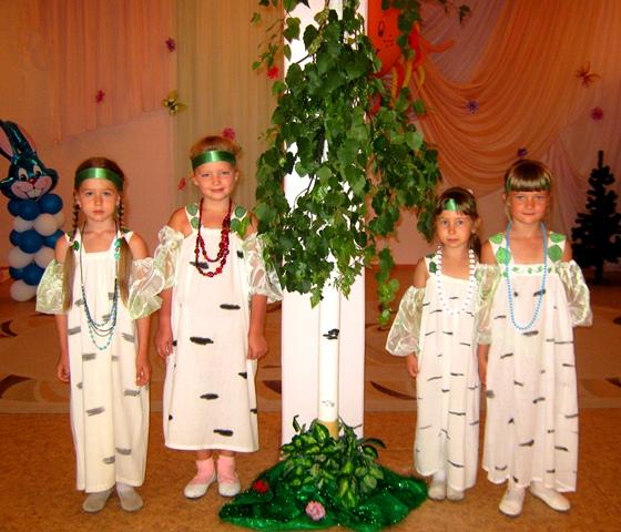 Фото костюм березки для девочки своими руками