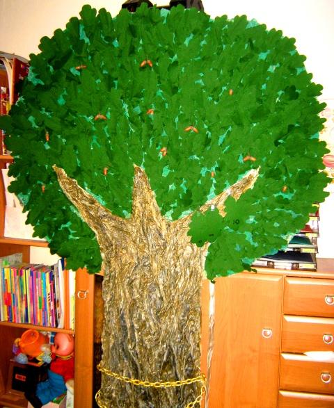 Дерево дуб сделать своими руками